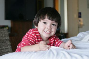 【2~3歳向け】子どもがお気に入りのタオルを離さない・・・