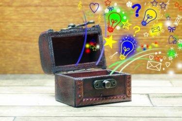 【兄らぼ工作・実験記】段ボールで「宝箱」を作ってみた